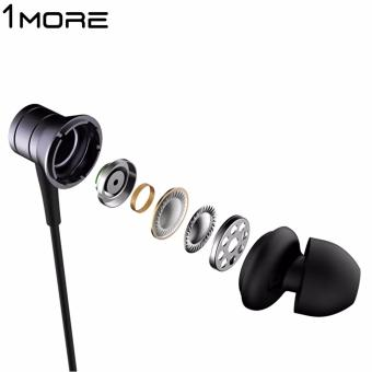 1MORE E1009 Piston Fit In-Ear Earphone Earbud Headset with Microphone (Gray) - 3