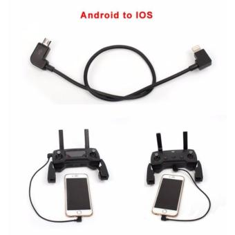 1pc Data Cable Remote Controller Data Line Smartphone Tablet Cablefor DJI SPARK/ MAVIC PRO