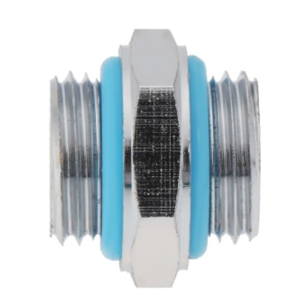 1pc G1/4 Dual External Thread Tube Connector for PC Water CoolingSystem - intl - 5