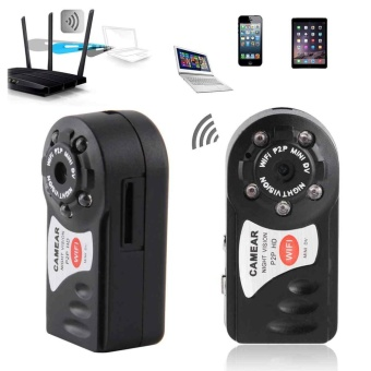 1x Mini IP Camera Wifi Micro SD CCTV Security Camera WirelessWebcam Audio HD - intl Price Philippines