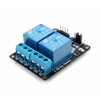 2-Channel 5V Relay Module With Optocoupler Protection for Arduino