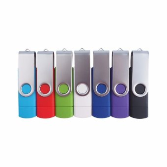 2 IN 1 OTG Pen Drive For Mobile Phone 256GB Memory Stick Android Smartphone Usb 2.0 U Disk USB Flash Drive Pendrive_Purple - intl - 2