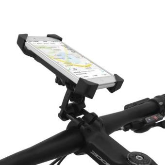 2 in 1 Universal Bicycle Motorcycle Phone Mount Holder 360 DegreeRotating For Smartphones GPS