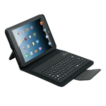 2 IN 1 Wireless Bluetooth Keyboard Rotary Protective Stand Case foriPad Mini - intl - 2