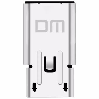 2 Pcs DM USB-C to Micro USB Adapter, Converts USB Type-C input toMicro USB, OTG Compatible,Works with MacBook, ChromeBook Pixel,Nexus 5X, Nexus 6P, Nokia N1, OnePlus 2 and More - intl - 2