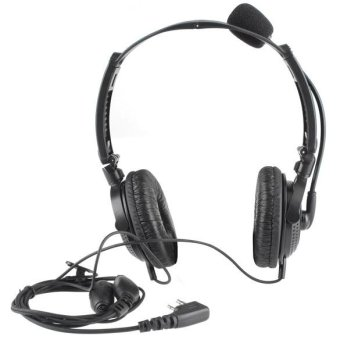 2 Pin Folding Communication Earpiece for Icom Radio - intl