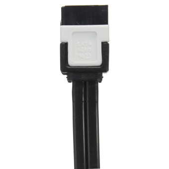 2 x SATA 3.0 III 6Gb/s HDD SSD Drive Data Straight Right Angle Cable for GIGABYTE - picture 2