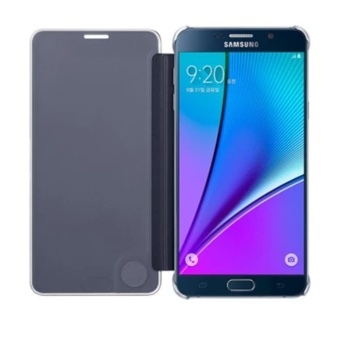 2017 New Clear View Mirror Leather Case Cover for Samsung GalaxyNote 5 - 4