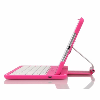 2017 NEW Cover Case with 360 Degree Swivel Rotary Stand BluetoothWireless Keyboard for iPad2/3/4 - intl - 3