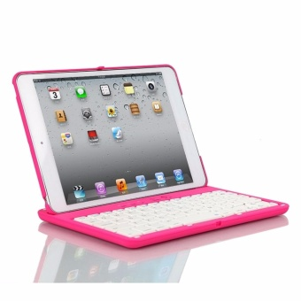 2017 NEW Cover Case with 360 Degree Swivel Rotary Stand BluetoothWireless Keyboard for iPad2/3/4 - intl - 2