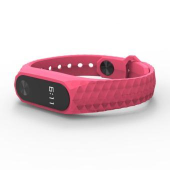 2017 Newest Silicon Wrist Strap WristBand Bracelet ReplacementXiaomi MI Band 2 - 2