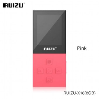2017 Original RUIZU X18 8G Bluetooth Sport MP3 Player LosslessRecorder FM Radio Bluetooth 4.0 Music Player Support 64G TF Card -intl