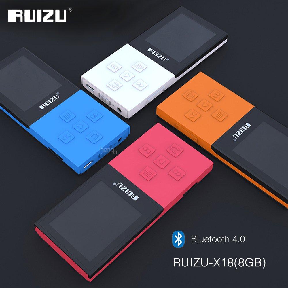 2017 Original RUIZU X18 8G Bluetooth Sport MP3 Player Lossless Recorder FM Radio Bluetooth 4.0 Music
