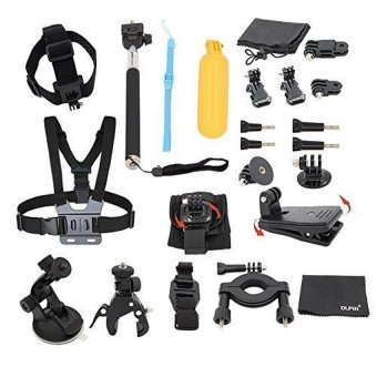 22-in-1 Sport Accessory Kit for GoPro Hero4 Session Hero1 2 3 3+ 4- intl