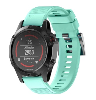 22mm Quick Install Easyfit Soft Silicone Band Strap with Tools for Fenix 5 / Forerunner 935 GPS Watch - intl - 3