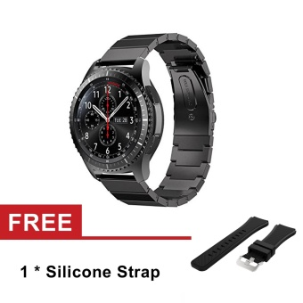 22mm Stainless Steel Watch Band Strap for Samsung Gear S3 ClassicS3 Frontier - intl