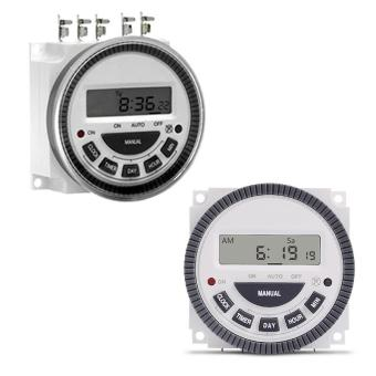 24 Hours 7 Days TM619 Digital Programmable Timer Switch 220V 16A4Pin Timer NEW - intl