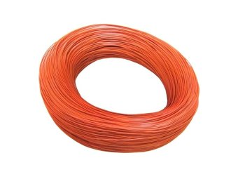 24AWG AWM 2000ft Multi Stranded Tin Plated Copper Wire (Orange)