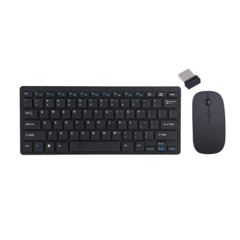 2.4G Wireless Keyboard And Mouse Kit Keypad Ultra-Slim For Android IOS PC Apple Laptop - intl
