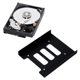2.5 to 3.5 Inch SSD HDD Metal Adapter Mounting Bracket Hard Drive Holder