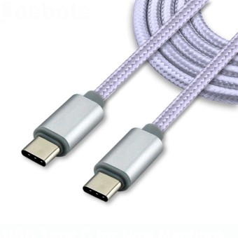 2m Length USB 3.1 Type C Cable Sync Data 14.5V 2A USB C to USB CCharger Cable for computer