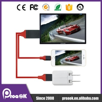 2M Lightning To HDMI/HDTV AV TV Cable Adapter For Apple iPad iPhone5S 6 6S Plus 7 IPAD - intl - 5