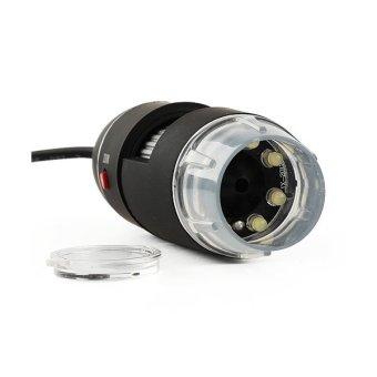 2MP 50-500X 8LED Digital USB Computer PC Microscope Endoscope Magnifier Camera - Intl