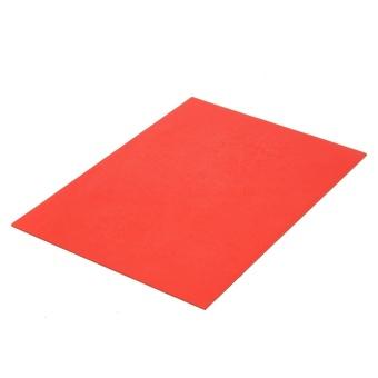2Pcs 297x210mm Orange Rubber Stamp Sheet for Laser EngravingMachine A4 Size 2.3mm - intl - 2