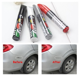 2PCS Universal Car Pro Mending Car Remover Scratch Repair Paint Pen Clear - intl