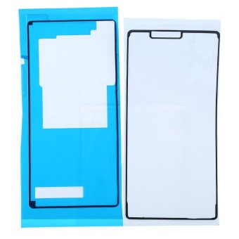 2Pcs Waterproof Lcd Adhesive Glue Battery Back Cover Sticker ForSony Z3(Blue) - intl Price Philippines