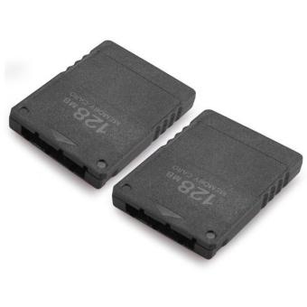 Play2save Source · Termurah 64MB &128MB Memory Card For Sony PlayStation 2 PS2 Slim Source 2x 128MB Memory Card