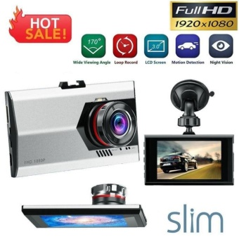 3' Full HD 1080P Car DVR Dash Camera G-sensor Vehicle Video CamRecorder - intl