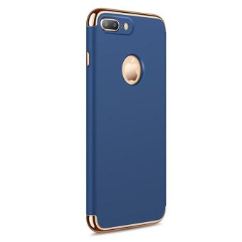 3 in 1 Anti-fingerprint Shockproof Electroplate Frame Case foriPhone 7 Plus