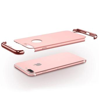 3 in 1 Anti-fingerprint Shockproof Electroplate Frame Case foriPhone 7 Plus - 3