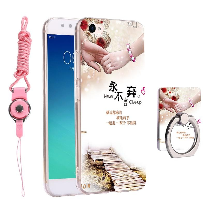 3 in 1 Cute Phone Case 3D Relief Pattern Back Cover for BBK Vivo V5Plus X9