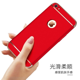 3 In 1 Fashion Ultra Thin Matte Hard Case for For iPhone 6 Plus/6sPlus(black) - intl - 4