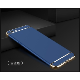 3 In 1 Fashion Ultra Thin Matte Hard Case for For OPPO F1S(Blue ) - intl