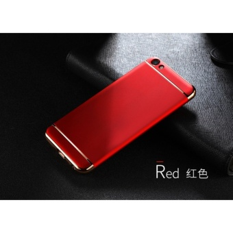 3 In 1 Fashion Ultra Thin Matte Hard Case for For OPPO F1S(Red) - intl