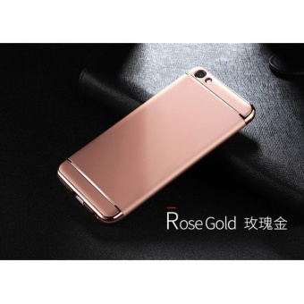 3 In 1 Fashion Ultra Thin Matte Hard Case for For OPPO F1S(rose gold) - intl