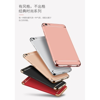 3 In 1 Fashion Ultra Thin Matte Hard Case for For OPPO F1S(rose gold) - intl - 2