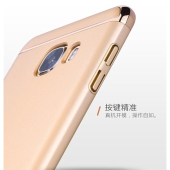 3 In 1 Fashion Ultra Thin Matte Hard Case for For Samsung Galaxy A52016(rose gold) - intl - 5