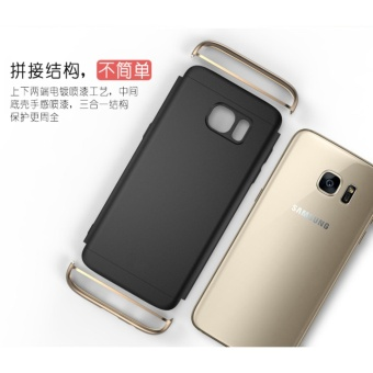 3 In 1 Fashion Ultra Thin Matte Hard Case for For Samsung GalaxyS6(Silver) - intl - 4