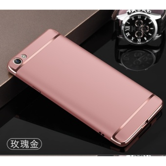 3 In 1 Fashion Ultra Thin Matte Hard Case For VIVO V5s - intl
