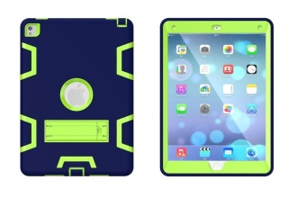 3 In 1 Hybrid Armor Shockproof Full Body Protective Kickstand Case for iPad Pro 9.7 Inch 2016 Release Tablet - intl - 3