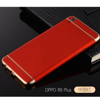 3 in 1 PC Protective Back Cover Case For Oppo F1 Plus / Oppo R9(Red) - intl
