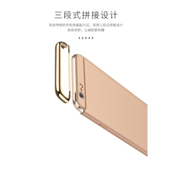 3 in 1 Ultra thin PC hard cover case phone case for OPPOA57/A39(Silver) - intl - 5