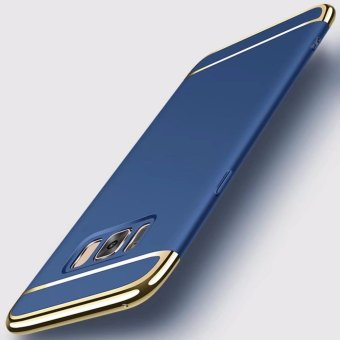 3 in 1plating Back cover case For Samsung Galaxy S8(Blue) - intl