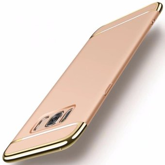 3 in 1plating Back cover case For Samsung Galaxy S8(Gold) - intl