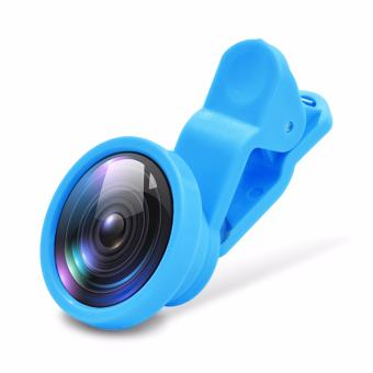 3 in1 Clip Camera Lens Fish Eye Wide Angle Macro Lens forSmartphone Tablet PC