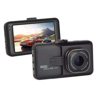 3 Inch Full HD 1080P Dash Cam Hands-Free Night Vision Car Camera Recorder DVR (Black)